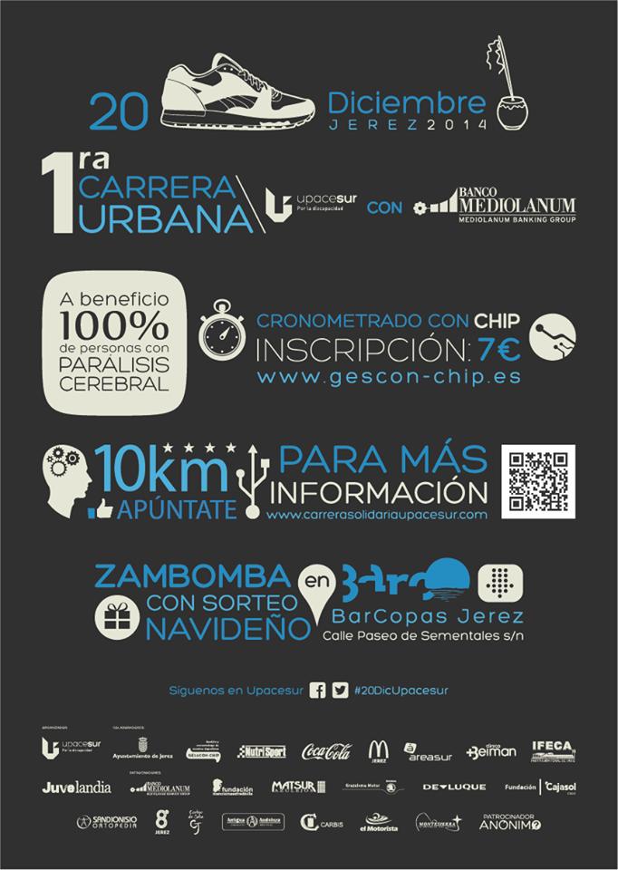 Carrera Solidaria de UPACE - Montesierra
