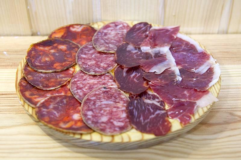 Una de las degustaciones de productos ibéricos que ofere Jamón&Jamón
