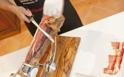 corte de jamón ibérico