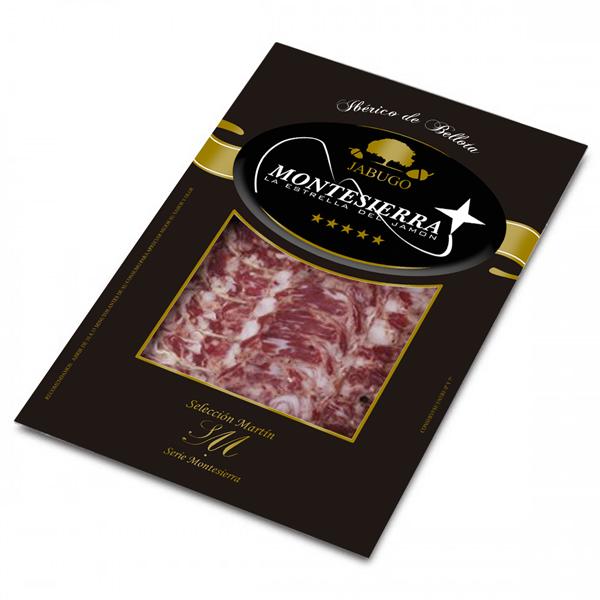 Loncheado salchichón ibérico de bellota Montesierra