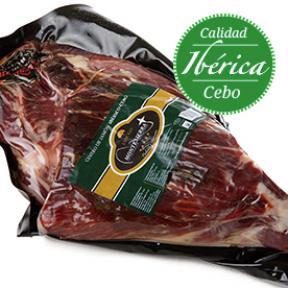 Centro Paleta Cebo Ibérica 50% raza ibérica