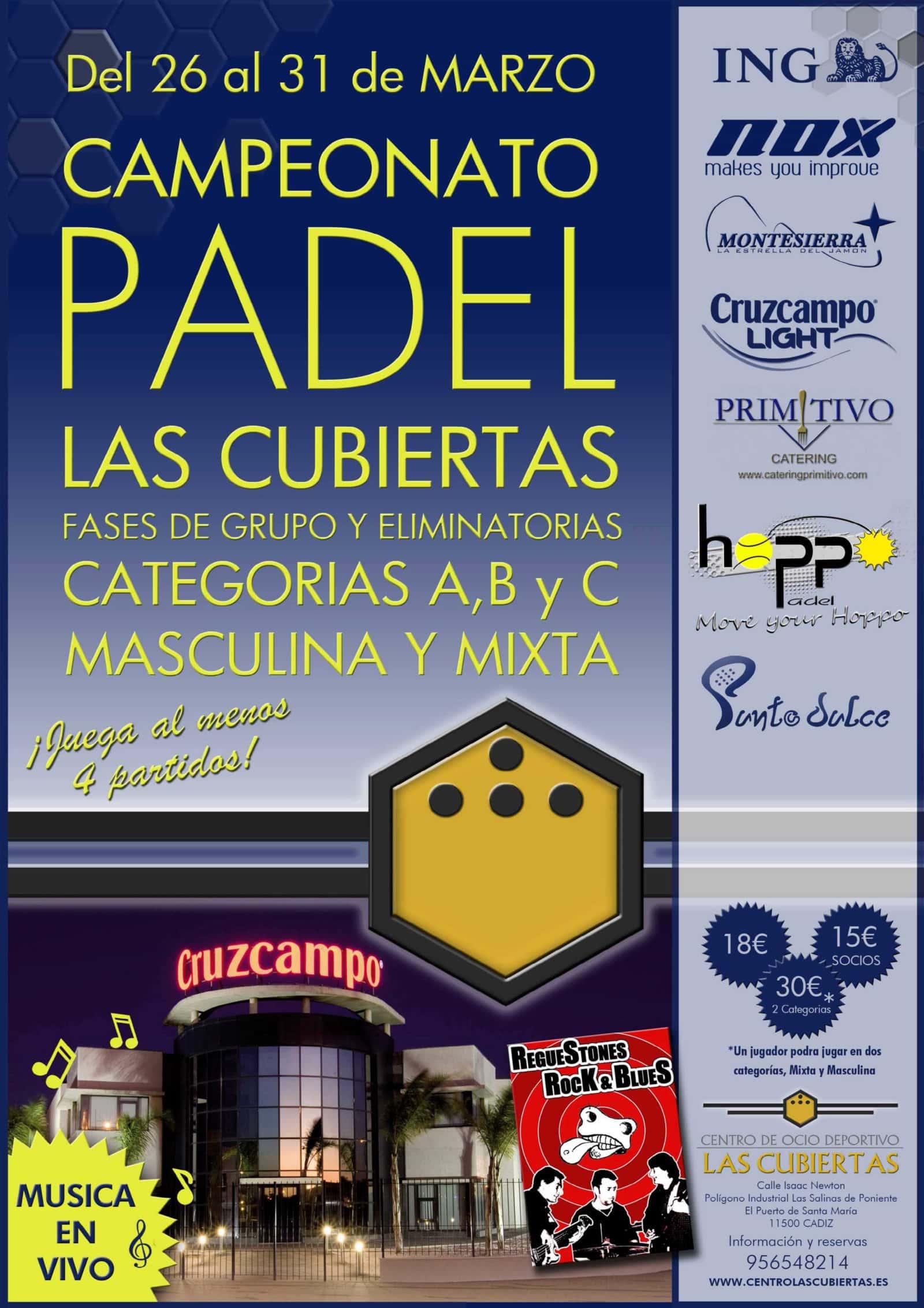 Campeonato Padel Las Cubiertas 2012