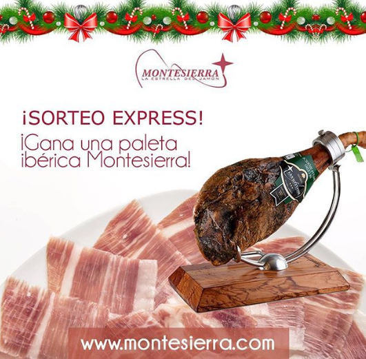 Ganadora Paleta Ibérica Montesierra