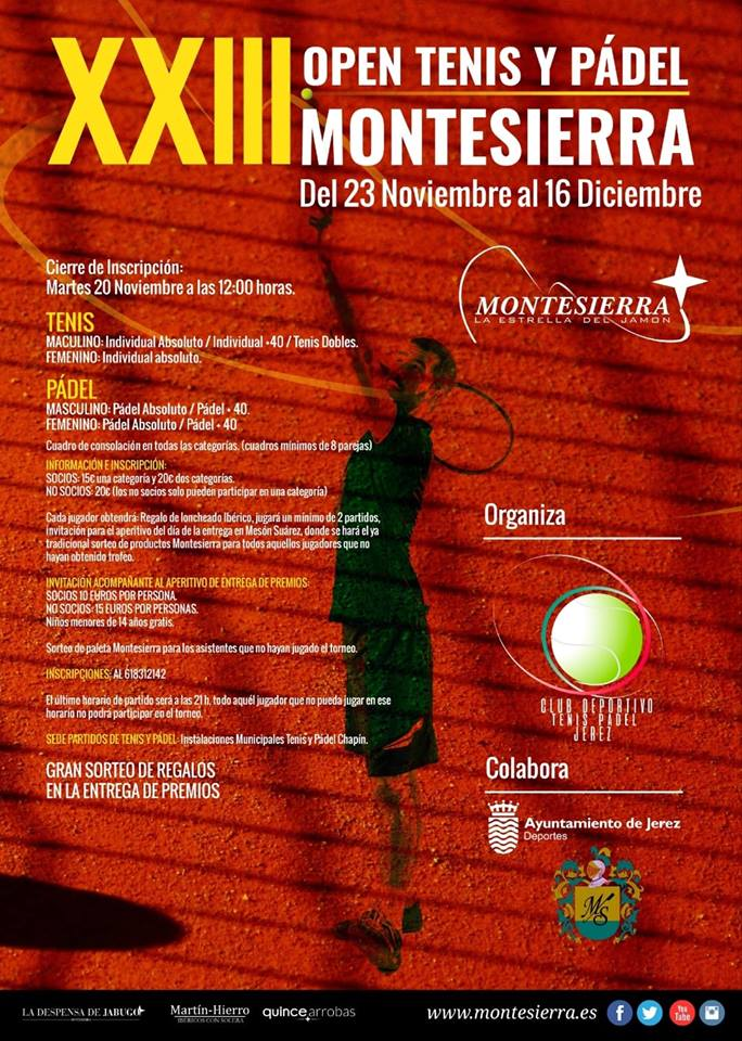 Open Montesierra en Jerez