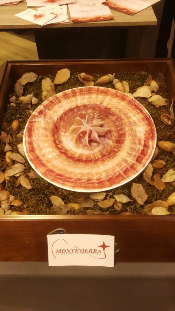 Plato de jamón Ibérico Montesierra