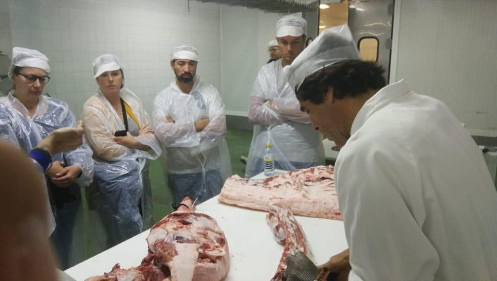 Taller sobre las piezas de cerdo ibérico